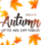 Autumn Games Table Sale