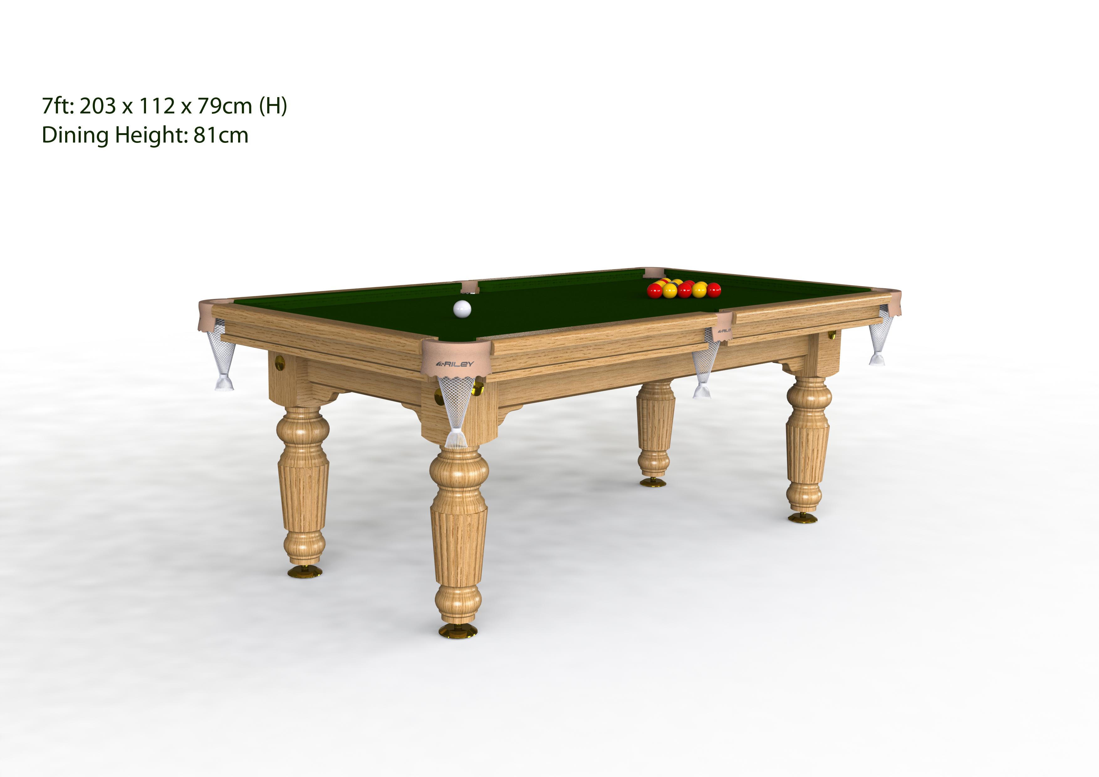 Riley Renaissance Pool Table