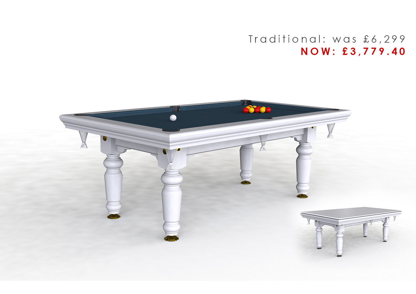 Riley Traditional 7ft Pool Diner