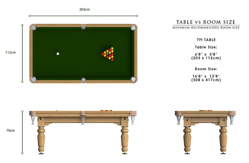 Riley Renaissance English Pool Table