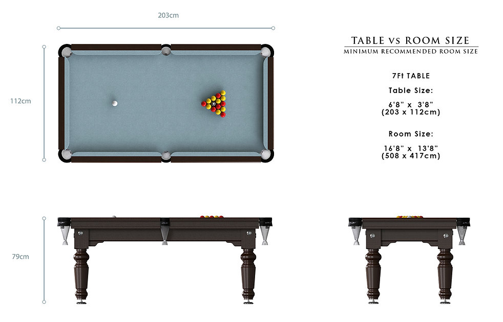 Riley Traditional English Pool Table
