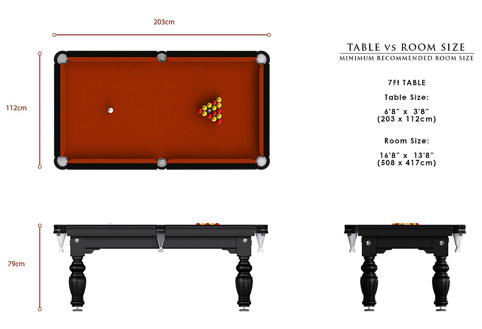 Riley Aristocrat English Pool Table