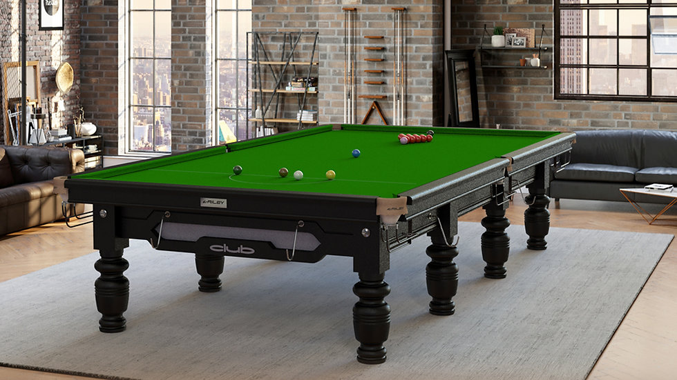 12ft Riley Club Snooker Table