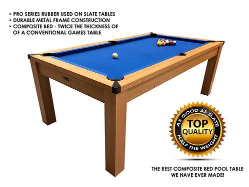 Riley 7ft Semi Pro American Pool Table - Oak