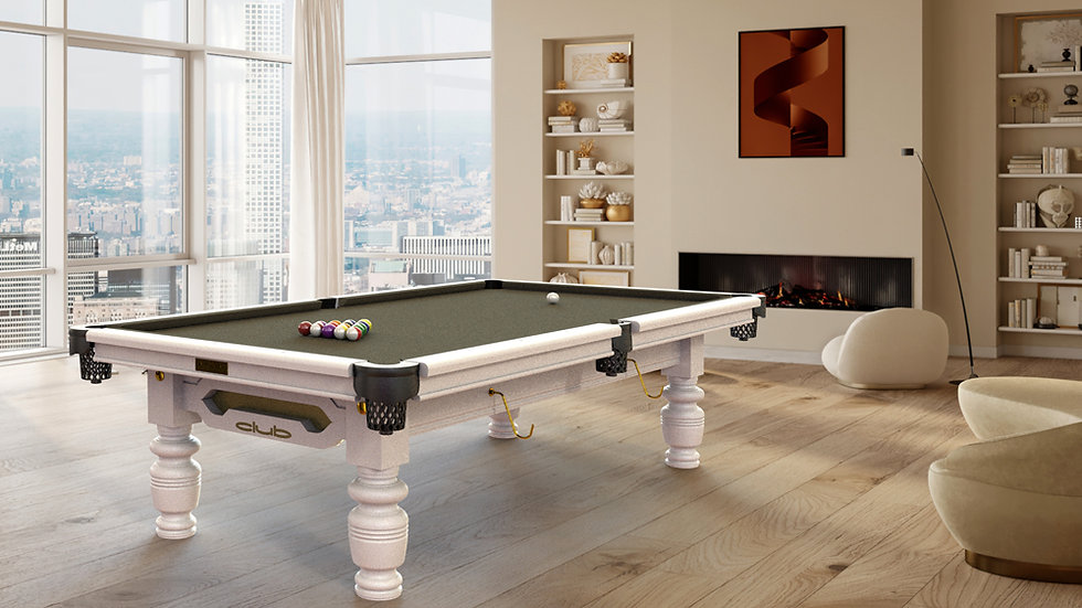 9ft Riley Club American Pool Table