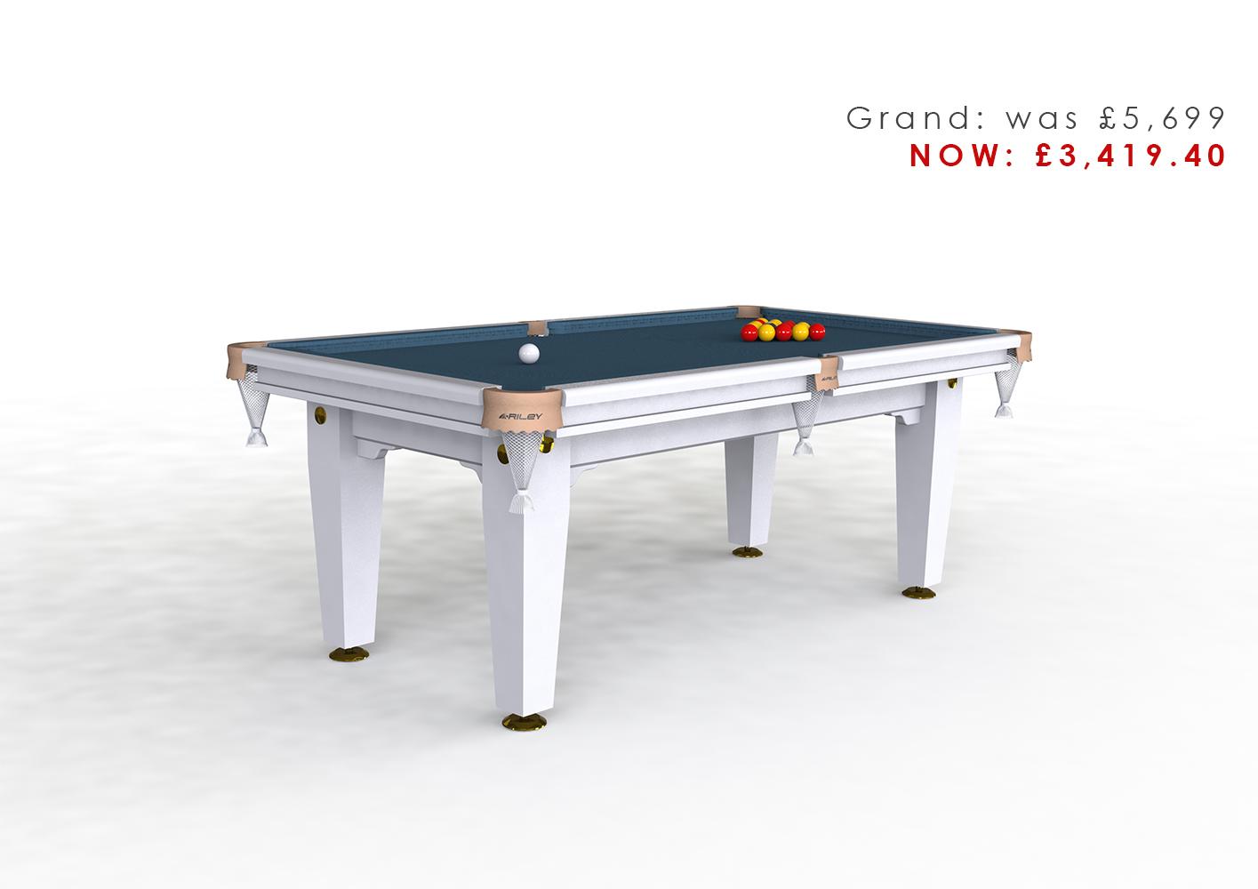 Riley Grand 7ft Pool Diner