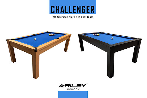 Riley Challenger Slate Pool Table - 7ft American Pool