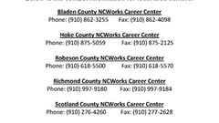 NCWorks Career Centers Closed to Public