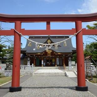 パワースポット「美瑛神社」