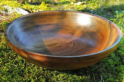 Oregon Black Myrtle Wood Bowl