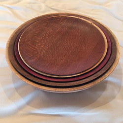 Five Nested Bowls