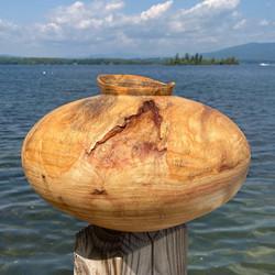 Pine Wood Vessel