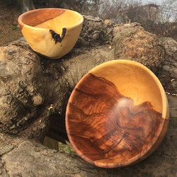 150 year old Apple Tree Bowls