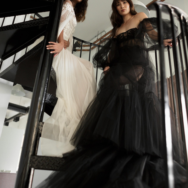 Photo by Ayaka Sano Gowns by Ritual Unions