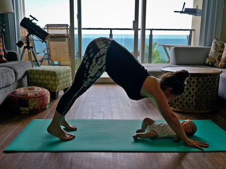 Top 5 Benefits of Doing Yoga with your Baby