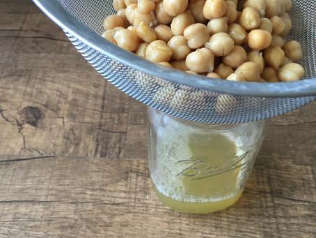 Vegan Meringues Made with Aquafaba (chickpea brine!)