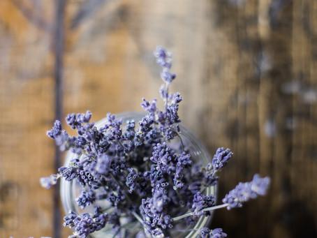 Homemade Lavender Vanilla Body Scrub