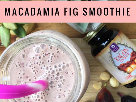 Macadamia Fig Smoothie