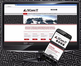 Marktauftritt SCore IT GmbH
