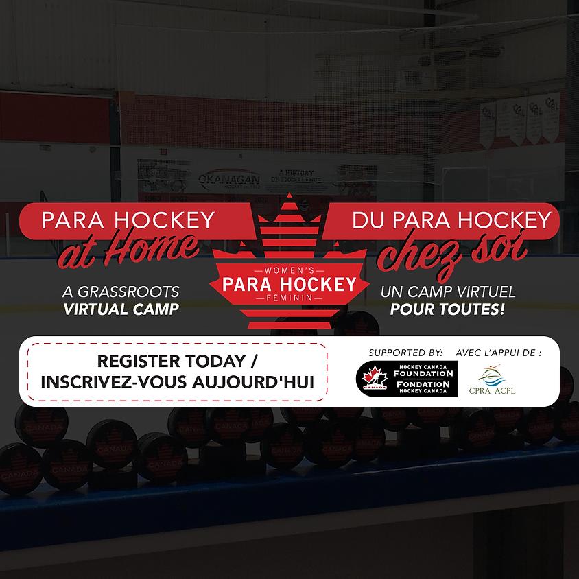 Para Hockey at Home Grassroots Virtual Camp