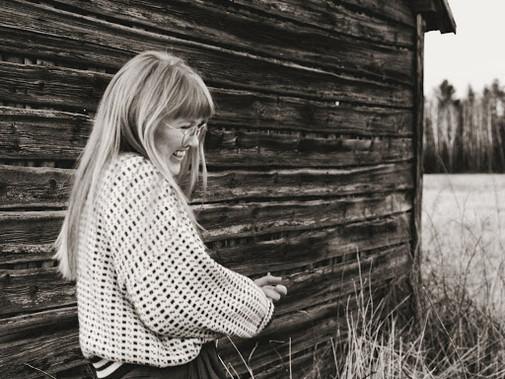 Magkänslan ledde Hanna till Lappfjärds folkhögskolas musikproduktionslinje