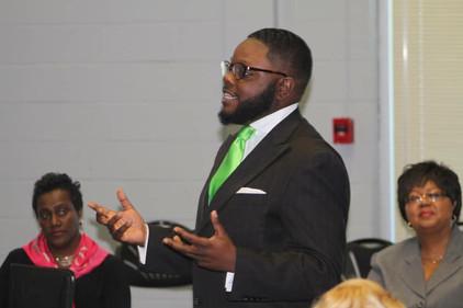 Speaking to women leaders