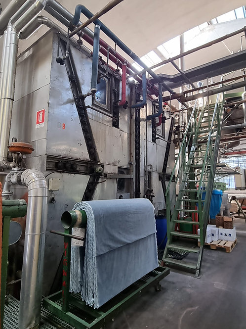 KUESTERS CONTINUOUS DYEING RANGE FOR PILE FABRICS