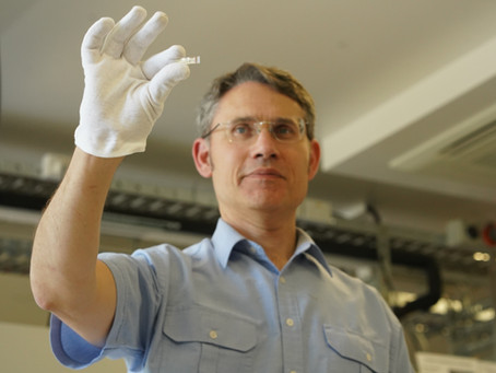 Prof Paul Dastoor on new biosensor factory funding