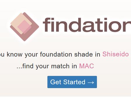 Encontre o tom certo da sua base - Findation.com