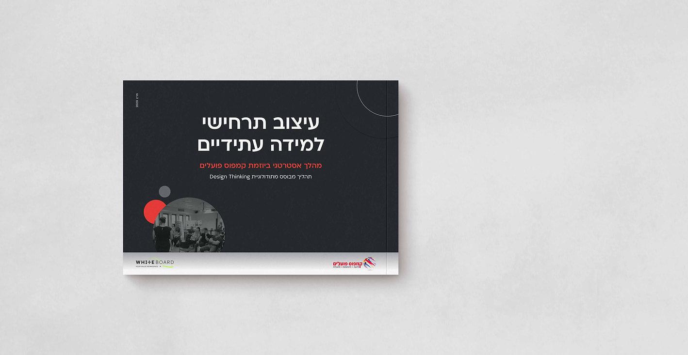 עיצוב דוח, עיצוב אינפוגרפיקה, הדמיות, עיצוב חוברת: יעל שאולסקי