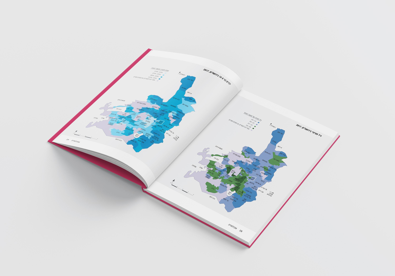 על נתונייך ירושלים   מכון ירושלים למחקרי מדיניות עיצוב דוח שנתי ואינפוגרפיקות