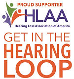 logo-Proud Supporter-Get in the Hearing Loop (HLAA)