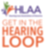 Logo-Get in the Hearing Loop (HLAA)