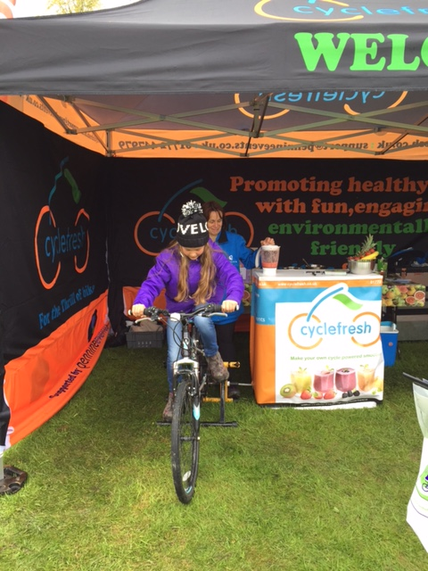 Cycle Powered Smoothie Maker