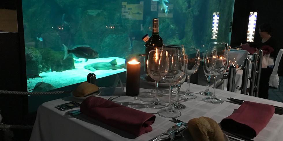 Cena bajo el mar | 11 abril