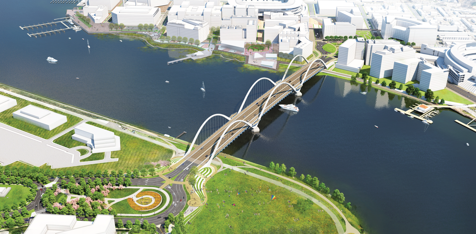 New Frederick Douglass Memorial Bridge