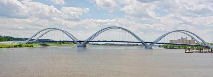New Frederick Douglass Memorial Bridge