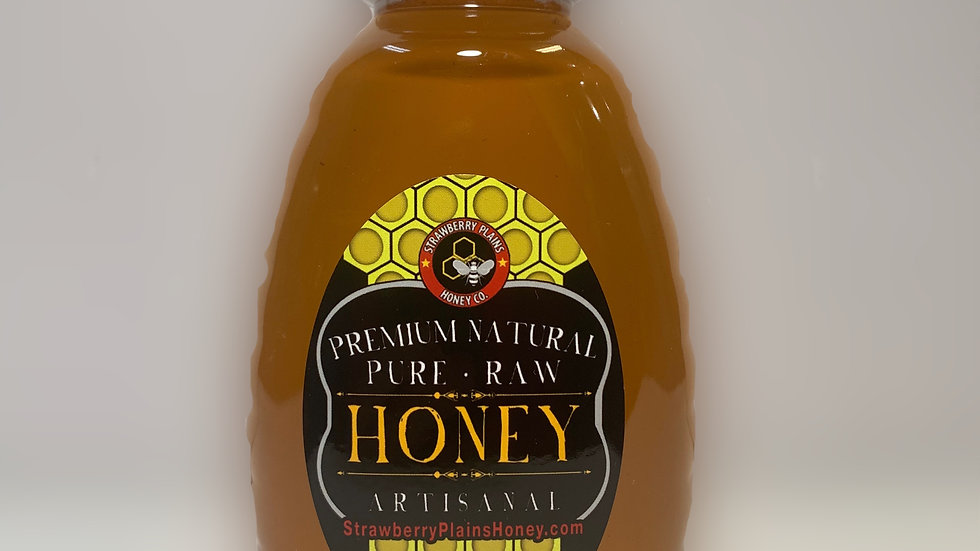 One Pound - Strawberry Plains Honey