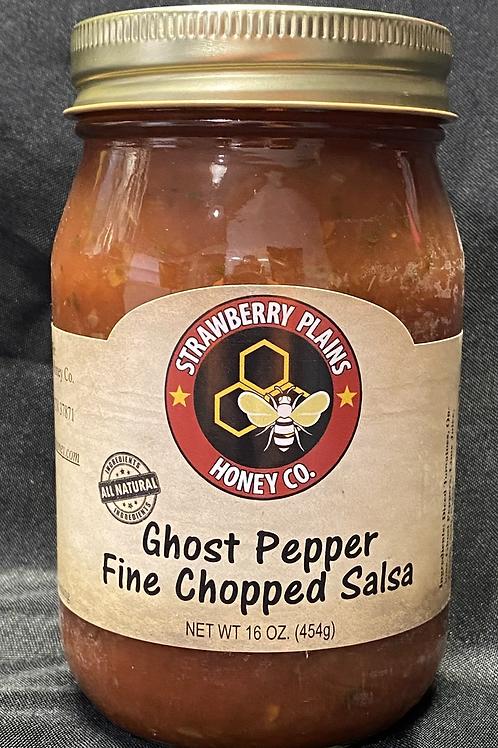 Ghost Pepper Fine Chopped Salsa