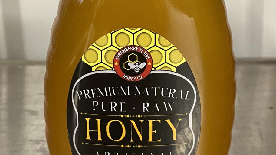 1 Pound Wildflower Honey-Strawberry Plains Honey