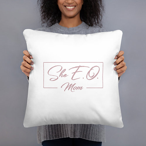 She E.O. Mom Pillow