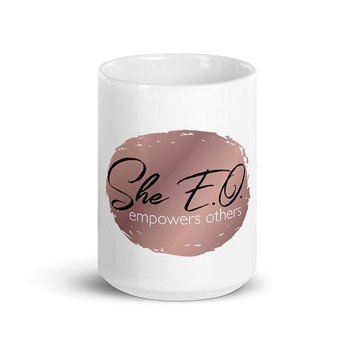She E.O. Logo Mug