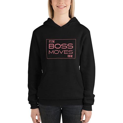 Boss Moves Hoodie Pink