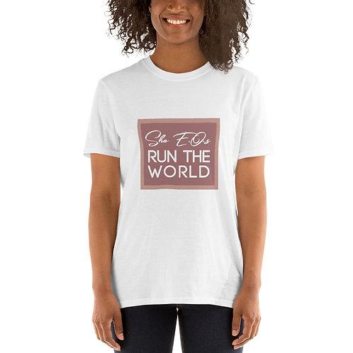 She E.O.s Run the World Tee