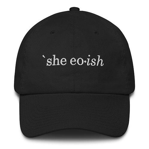 'She eo ish' Cap