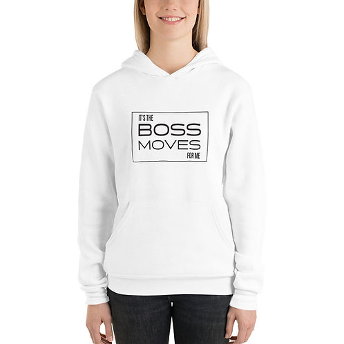 Boss Moves Hoodie Black