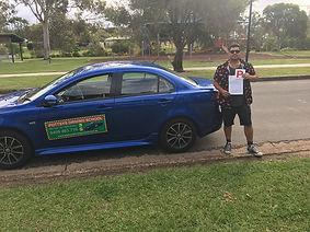 Aaron Relan getting his licence..jpg