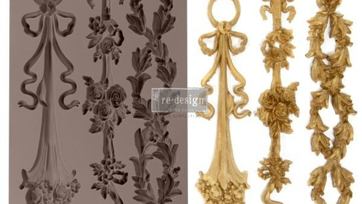 'Sorrento Laurels' Decor Mould - Redesign With Prima