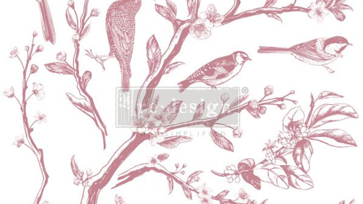 REDESIGN DECOR CLEAR-CLING STAMPS – SPRINGTIME – 12×12
