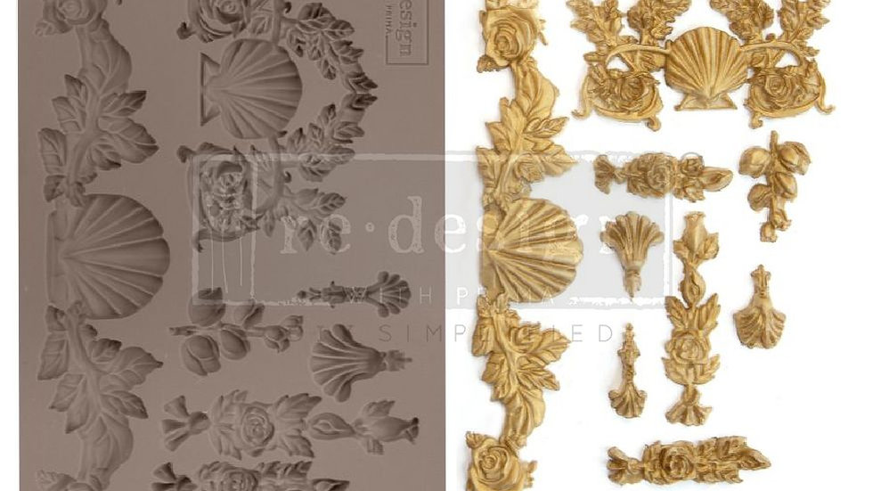 'Seawashed Tresures' Decor Mould - Redesign With Prima